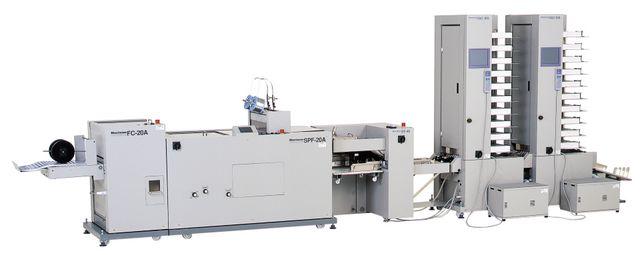 Брошюровочные и листоподборные комплексы на базе Horizon VAC-100